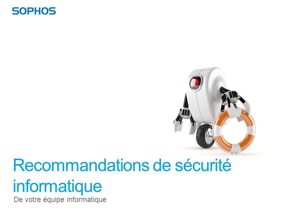 Recommandations de sécurité informatique