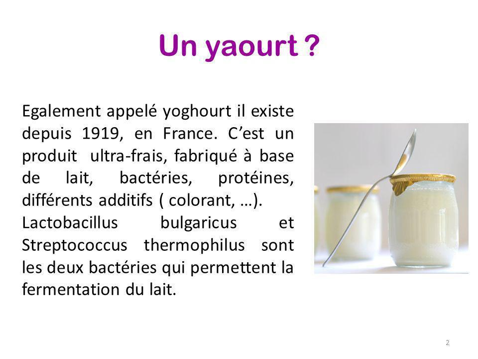 Un yaourt