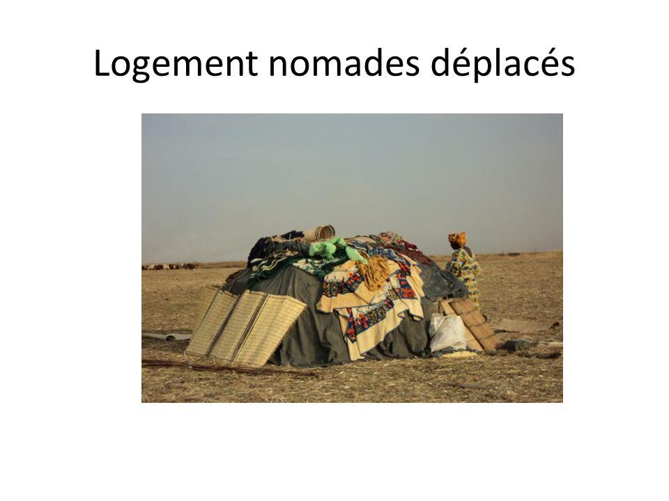 Logement nomades déplacés