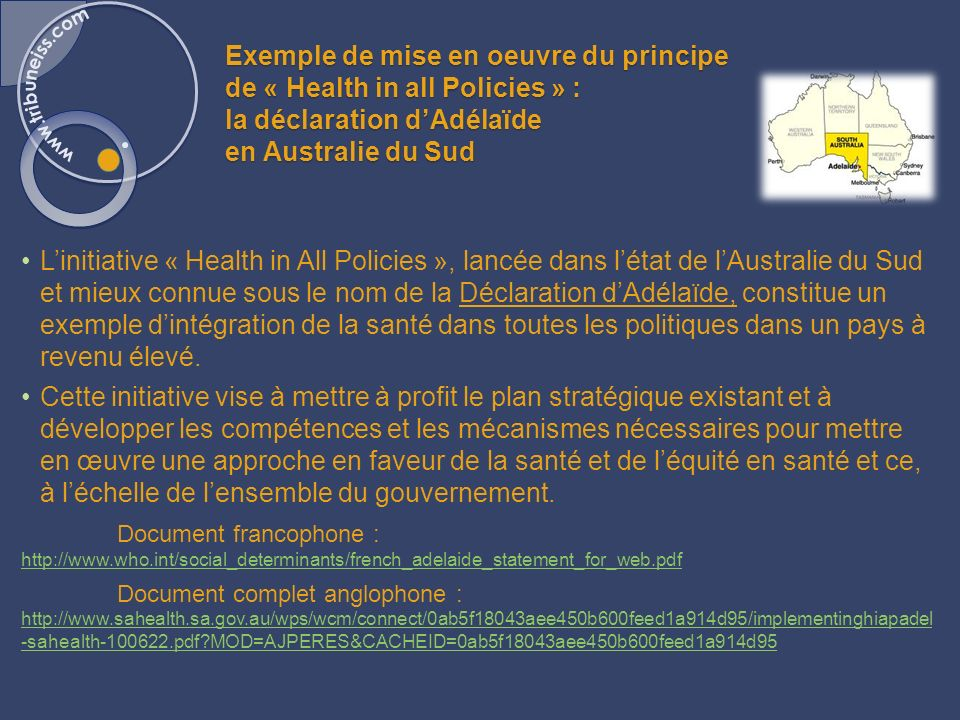 Exemple d'évaluation d'impact sur la santé : La London Health Commission (LHC)