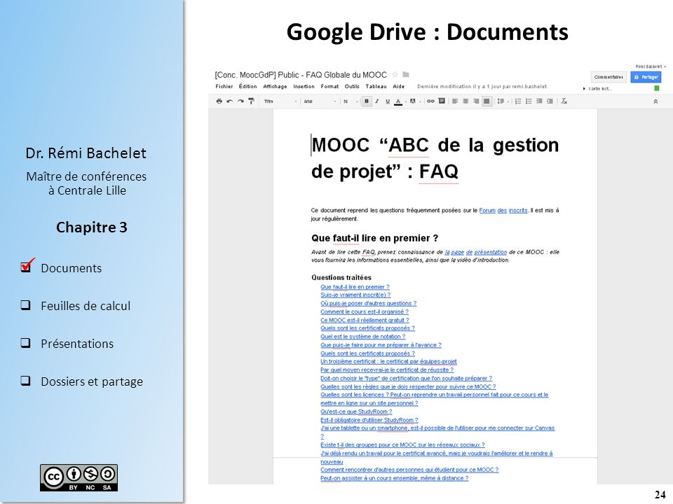 Google Drive : Documents