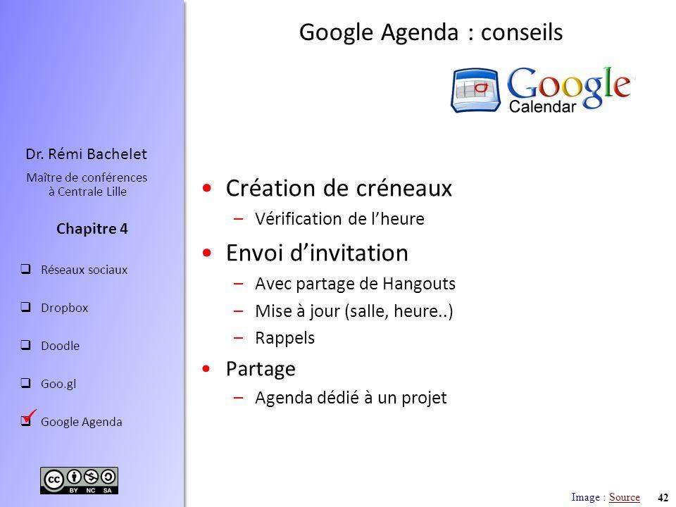 Google Agenda : conseils
