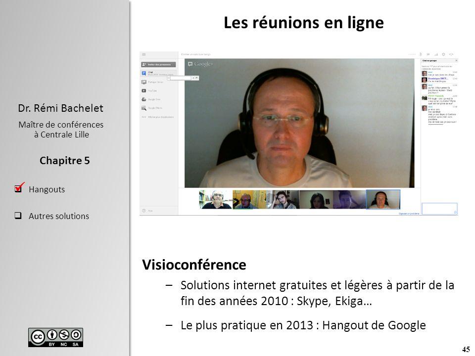Les réunions en ligne Visioconférence 