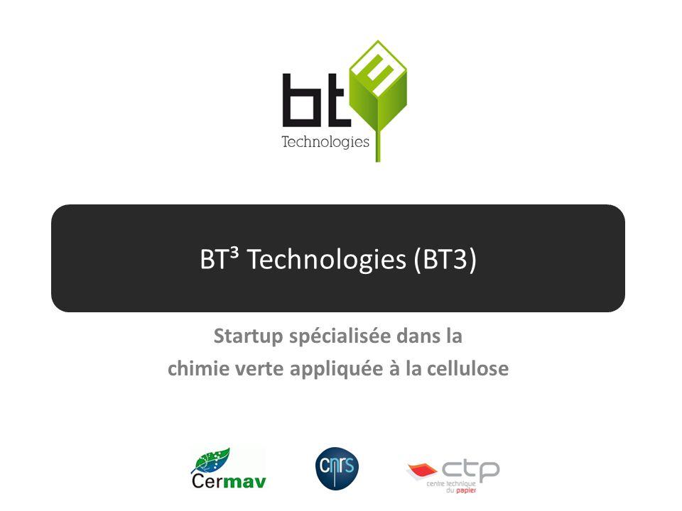 Startup spécialisée dans la chimie verte appliquée à la cellulose