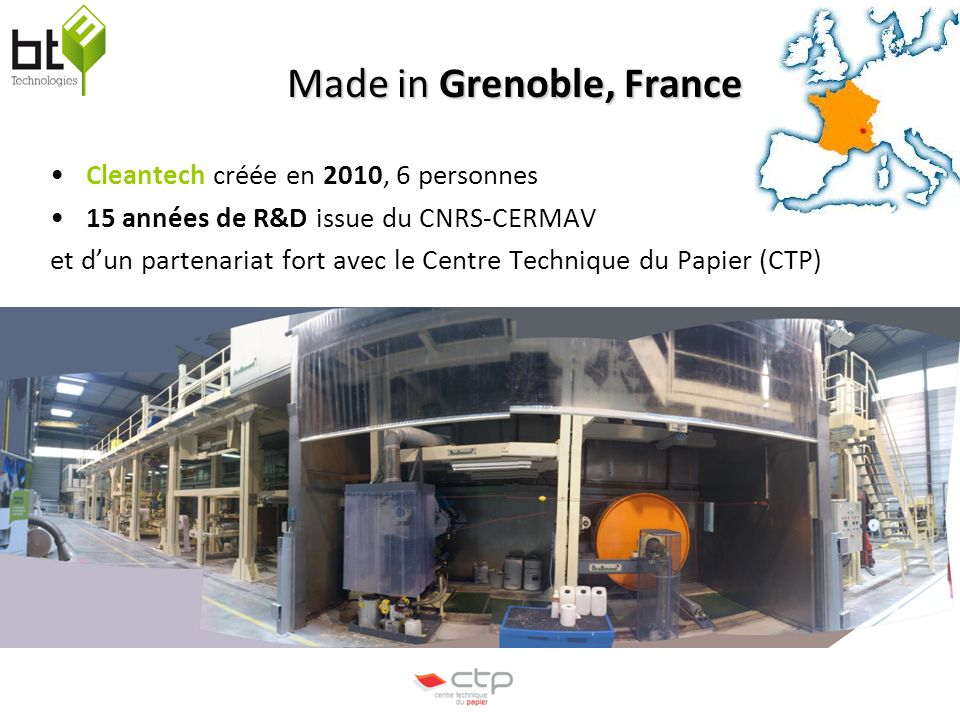 Made in Grenoble, France