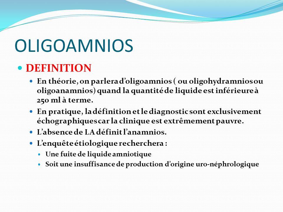 OLIGOAMNIOS DEFINITION