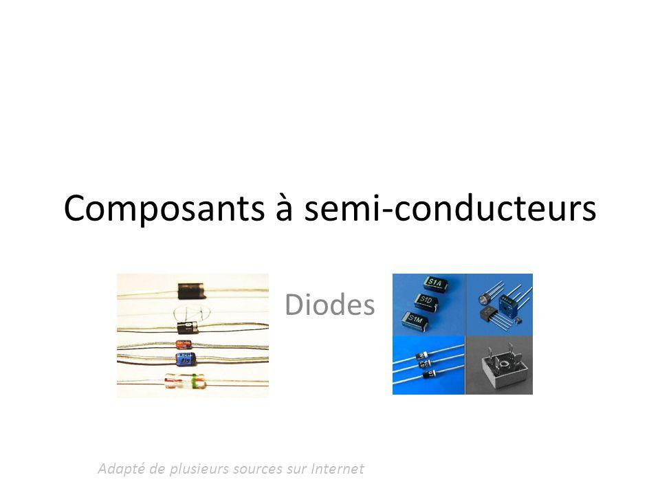 Composants à semi-conducteurs