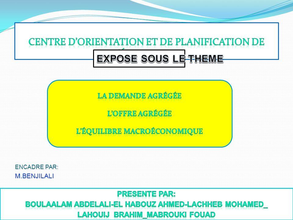 Centre d'orientation et de planification de l'éducation.