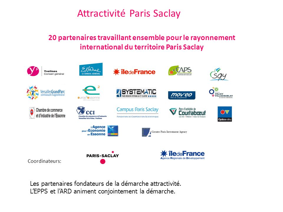 Attractivité Paris Saclay