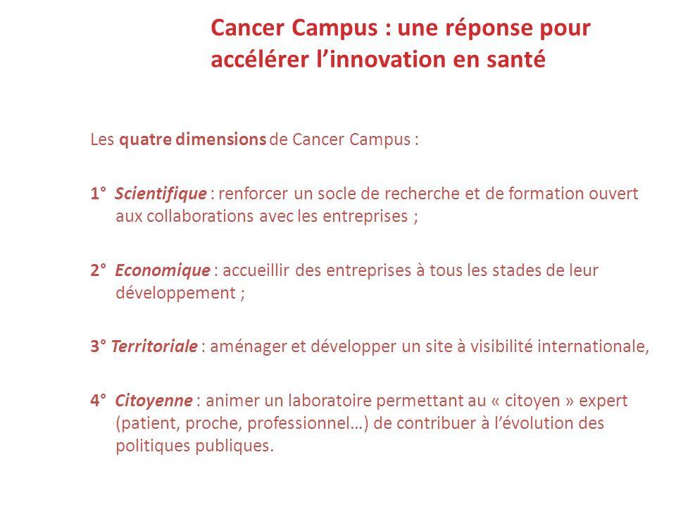 Cancer Campus : une réponse pour accélérer l'innovation en santé