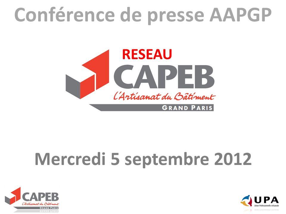 Conférence de presse AAPGP RESEAU
