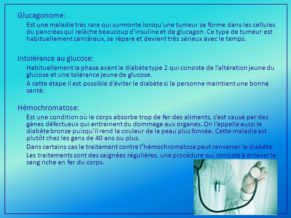 Intolérance au glucose: