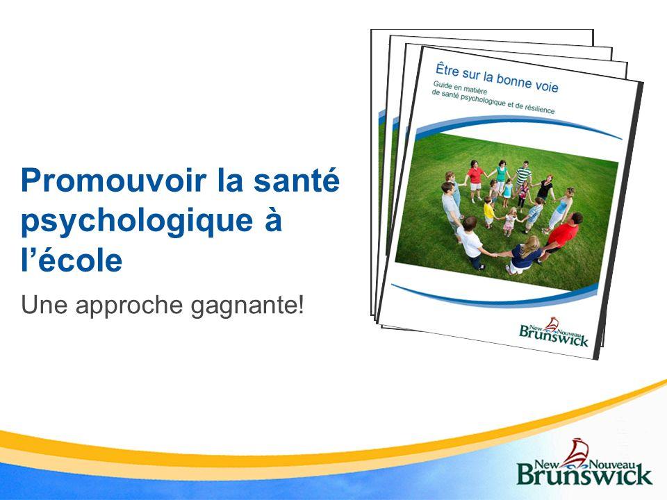 Promouvoir la santé psychologique à l'école