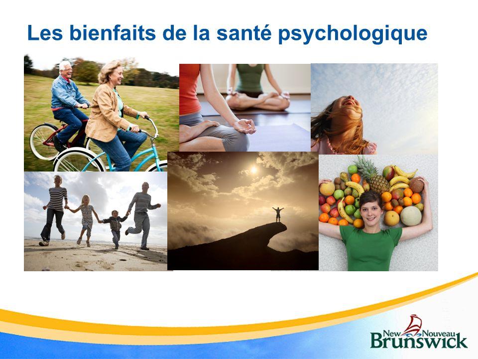 Les bienfaits de la santé psychologique