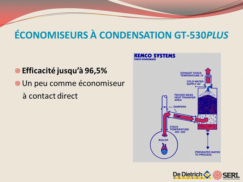 ÉCONOMISEURS À CONDENSATION GT-530PLUS