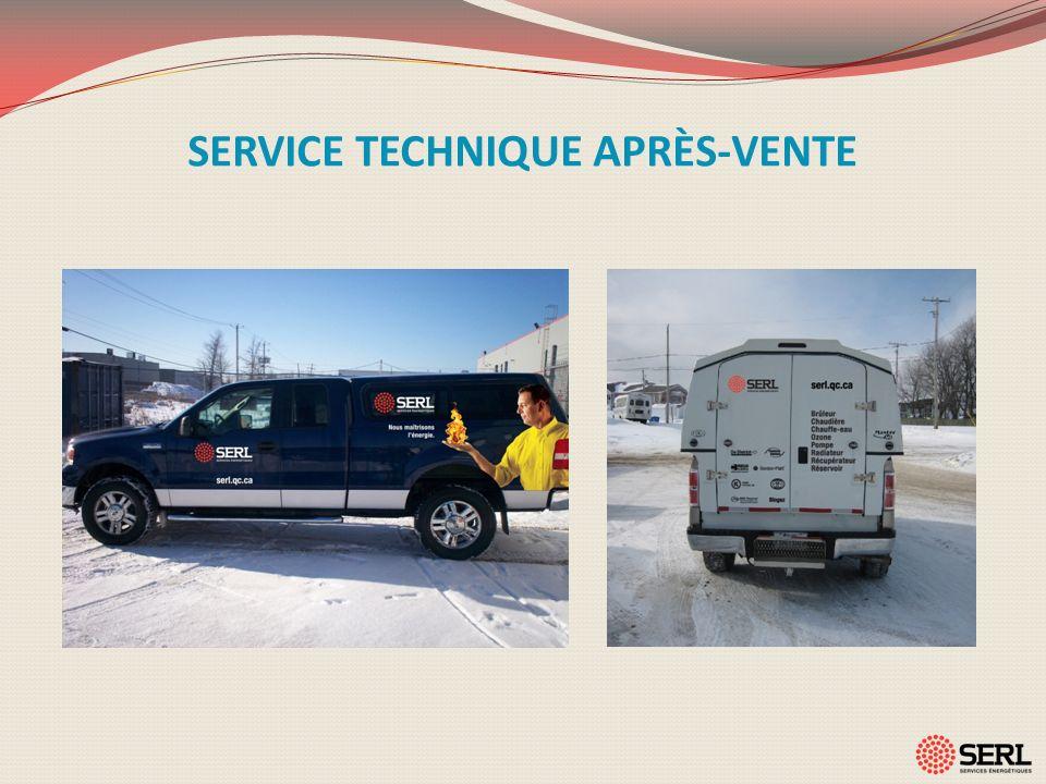 SERVICE TECHNIQUE APRÈS-VENTE
