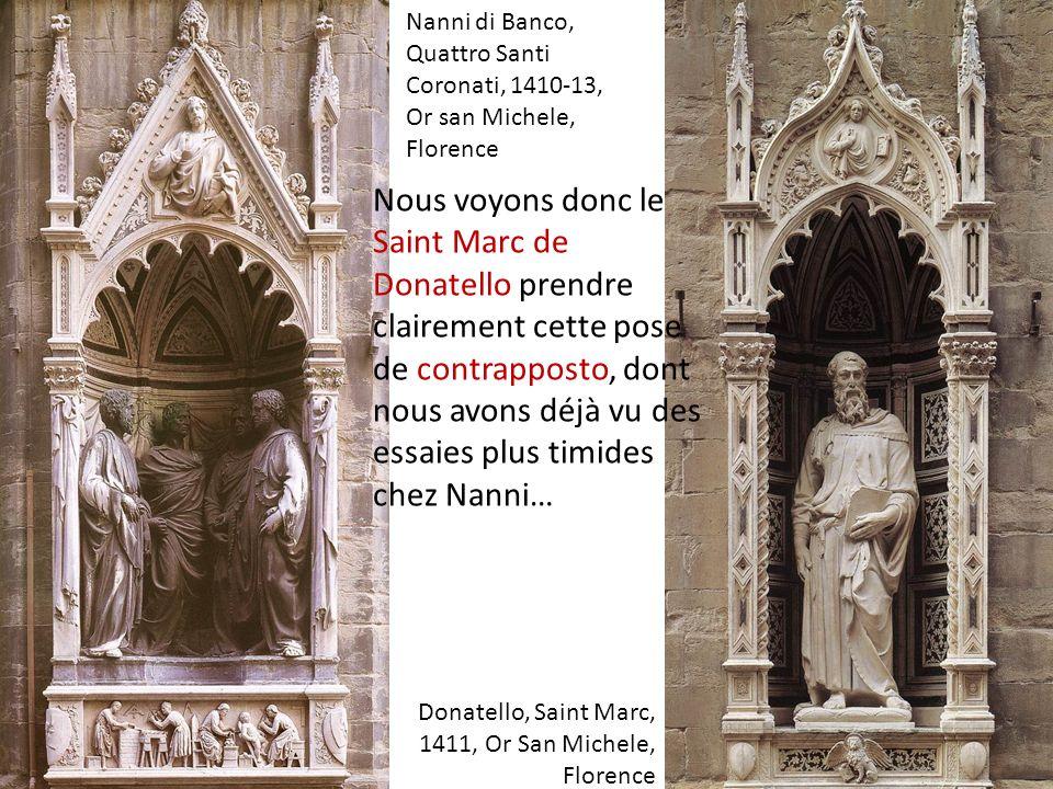 Nanni di Banco, Quattro Santi Coronati, 1410-13, Or san Michele, Florence