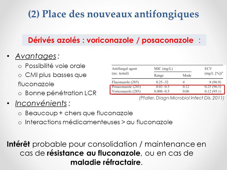 (2) Place des nouveaux antifongiques