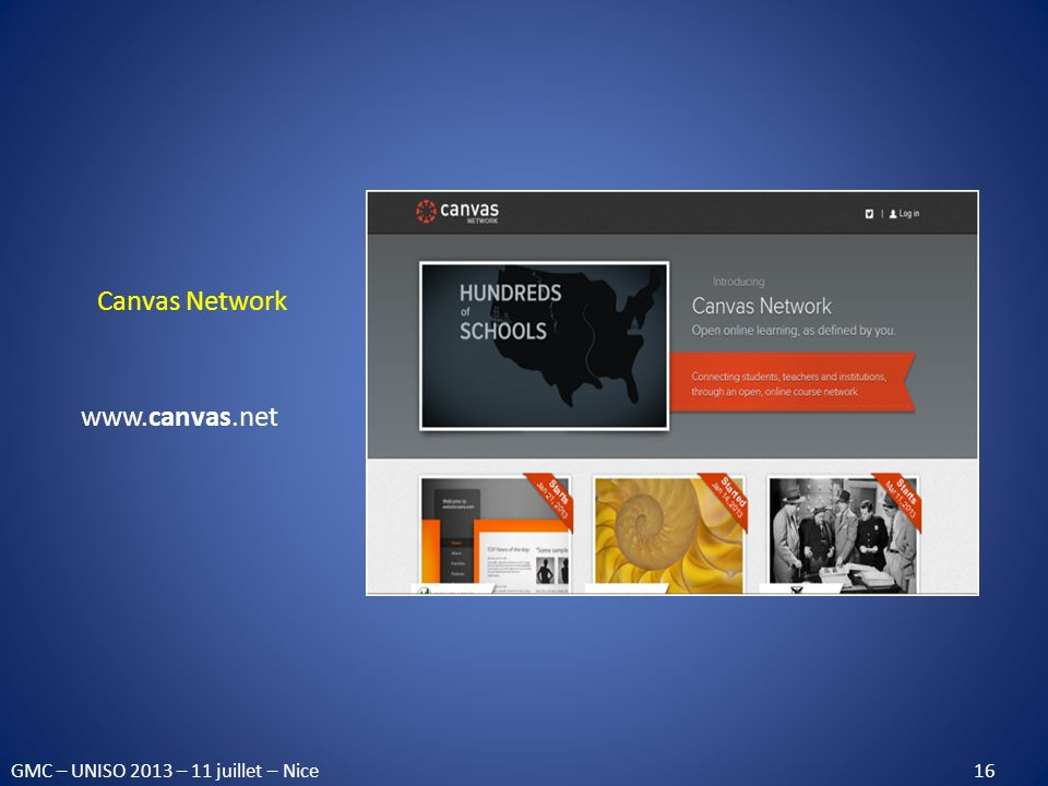 Canvas Network www.canvas.net.