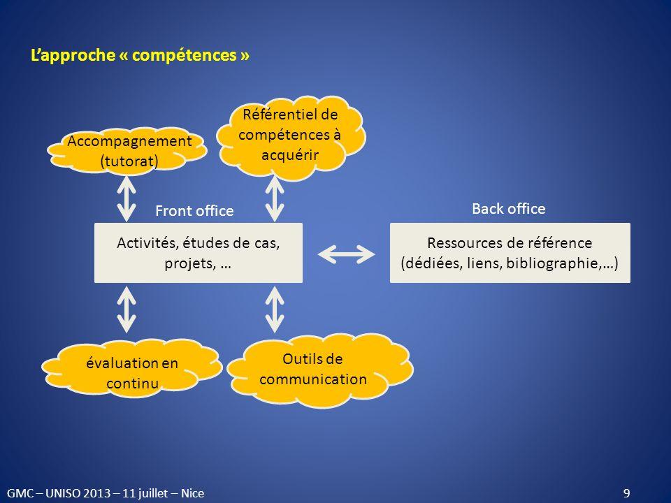 L'approche « compétences »