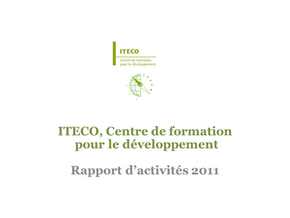 ITECO, Centre de formation pour le développement Rapport d'activités 2011