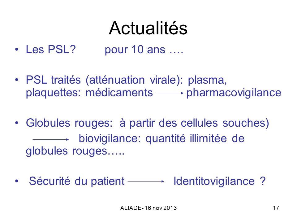 Actualités Les PSL pour 10 ans ….