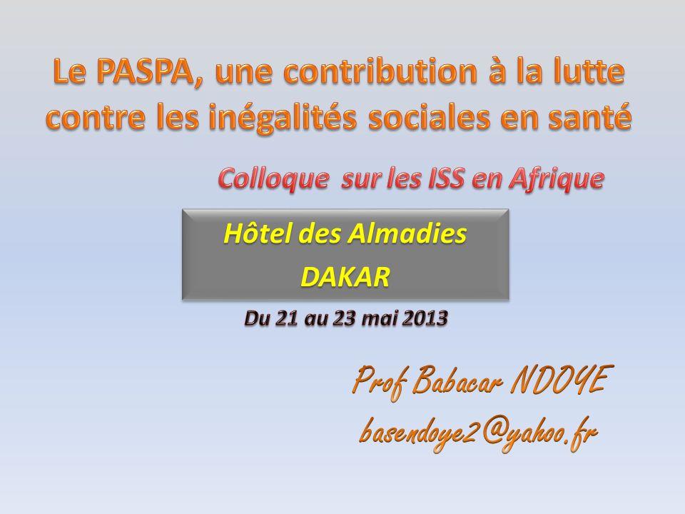 Prof Babacar NDOYE basendoye2@yahoo.fr