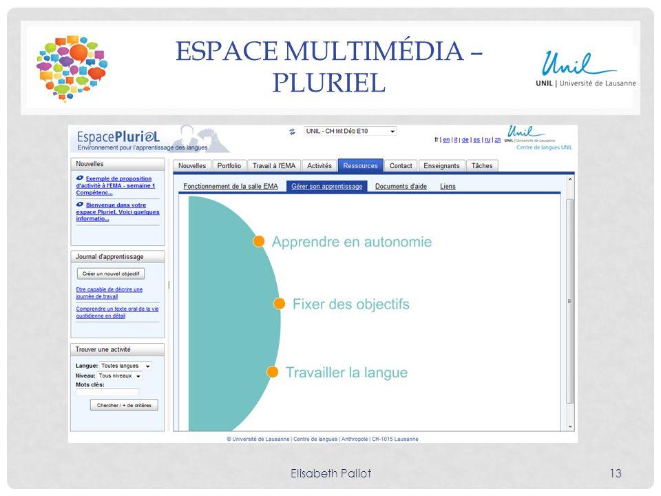 Espace multimédia – PlurieL