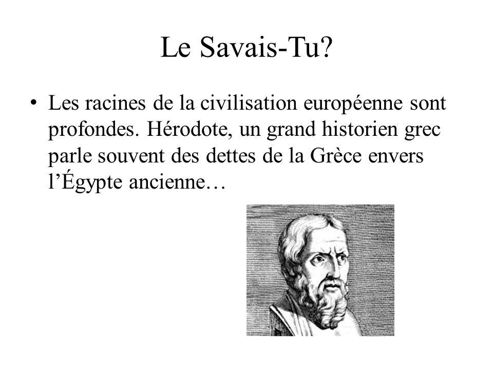 Le Savais-Tu