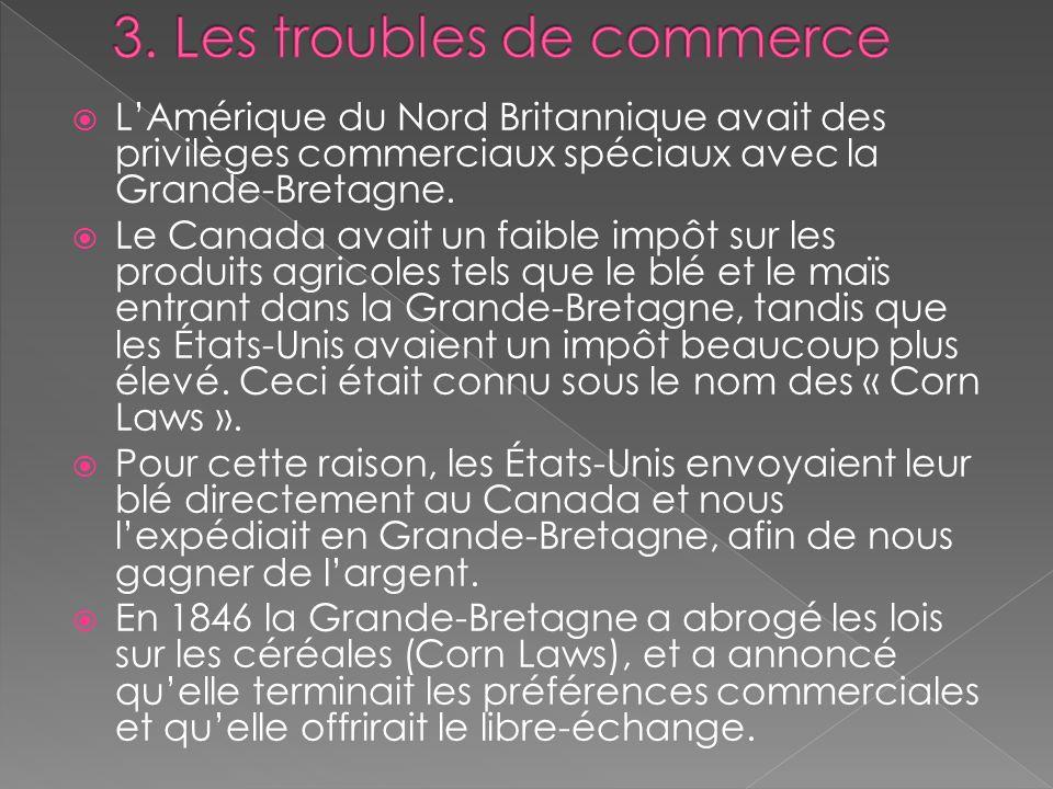 3. Les troubles de commerce