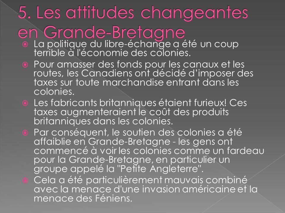 5. Les attitudes changeantes en Grande-Bretagne