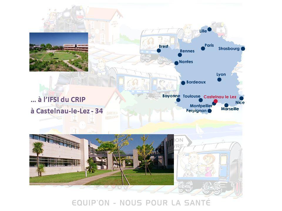 … à l'IFSI du CRIP à Castelnau-le-Lez - 34