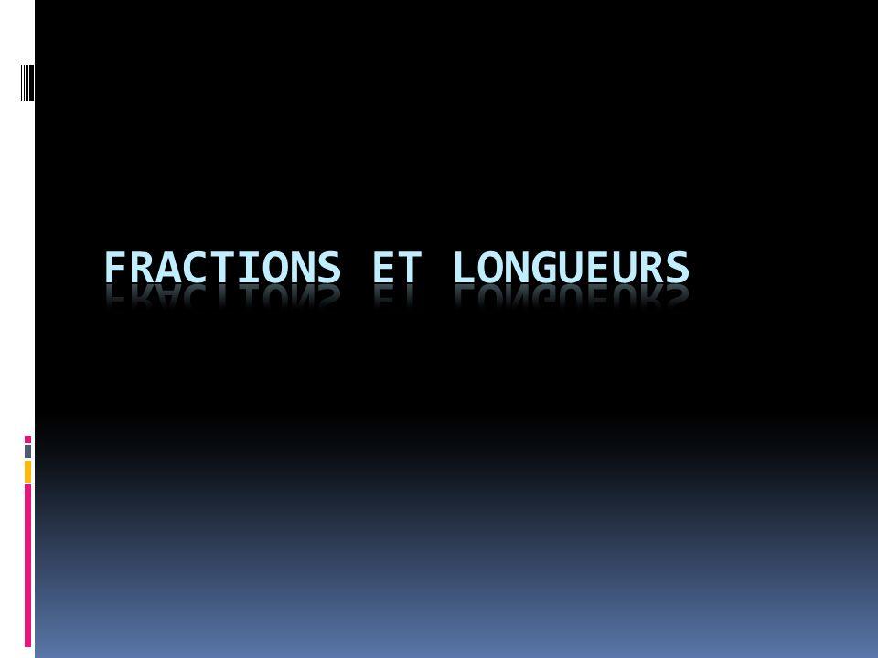 Fractions et longueurs