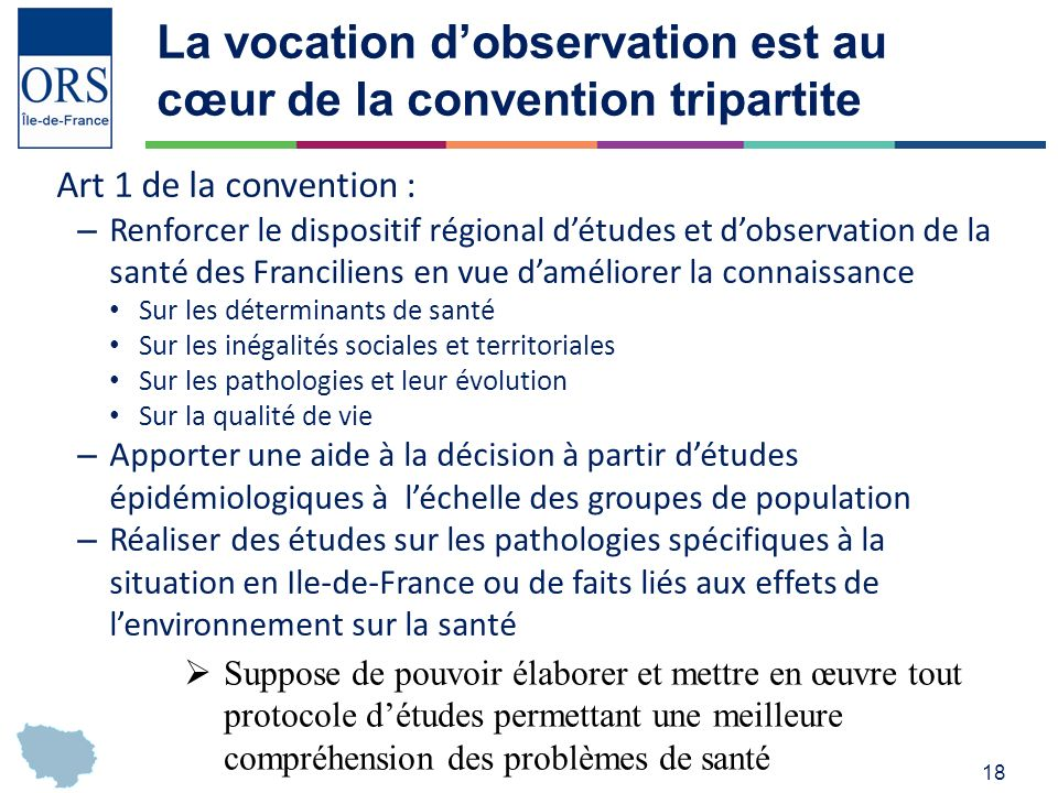 La vocation d'observation est au cœur de la convention tripartite