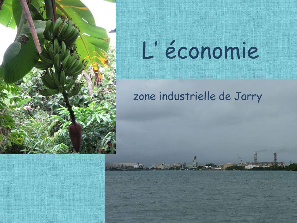 L' économie zone industrielle de Jarry