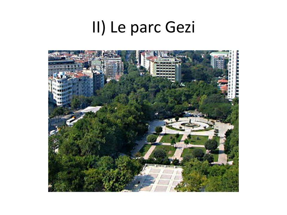 II) Le parc Gezi