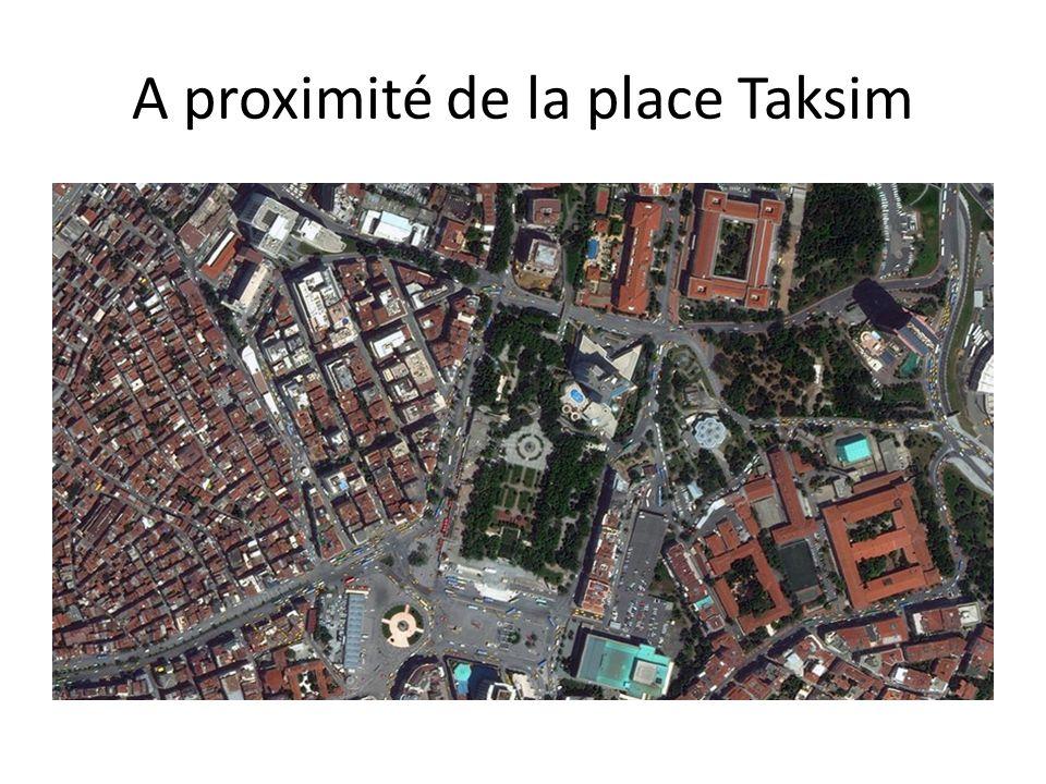 A proximité de la place Taksim