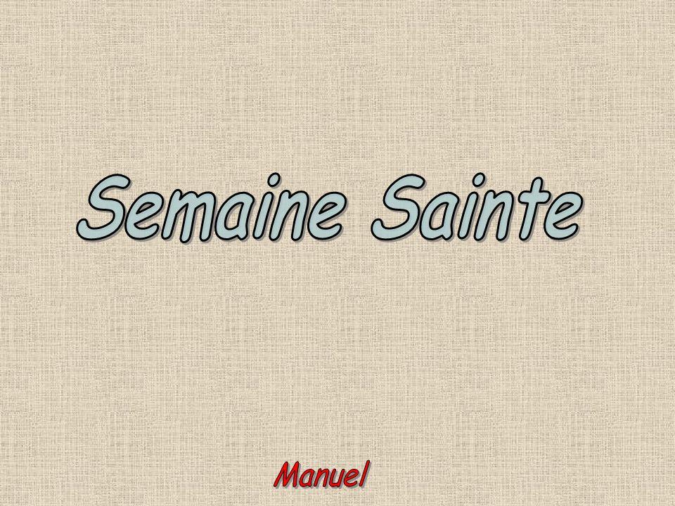 Semaine Sainte Manuel