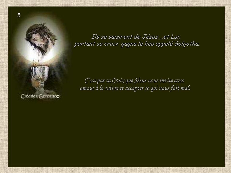 C'est par sa Croix que Jésus nous invite avec