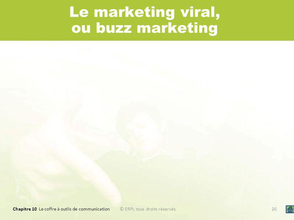 Le marketing viral, ou buzz marketing