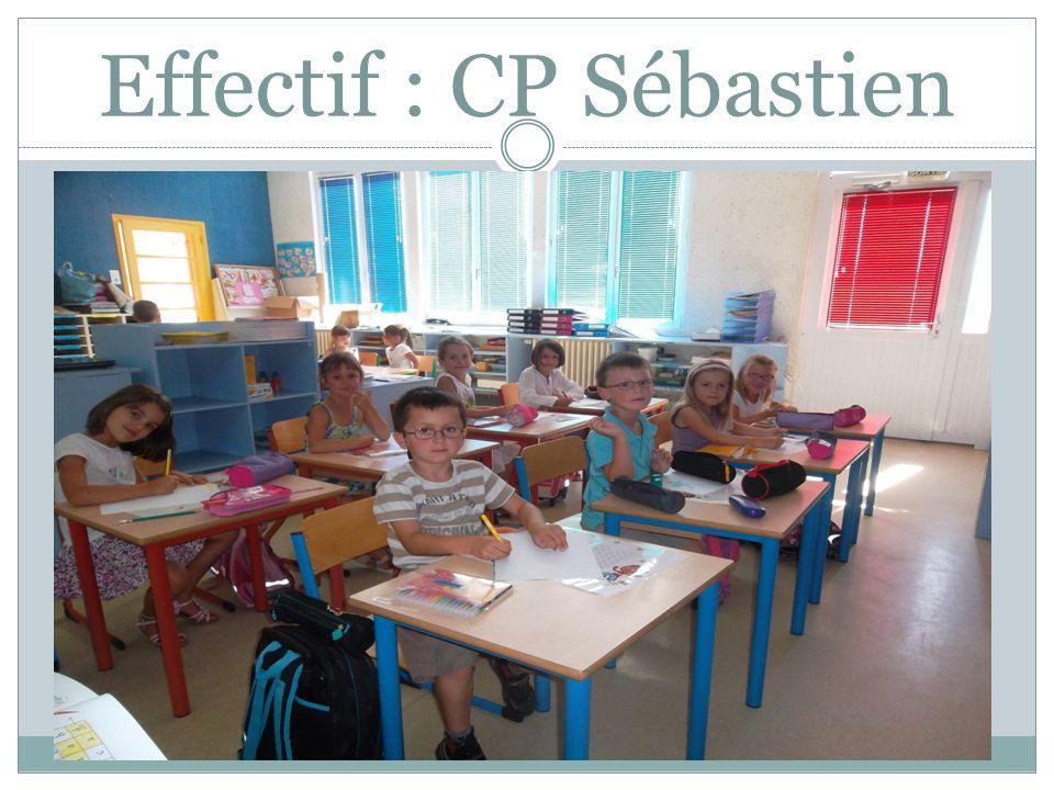 Effectif : CP Sébastien