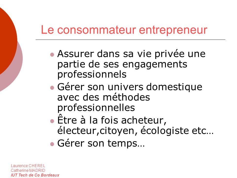 Le consommateur entrepreneur