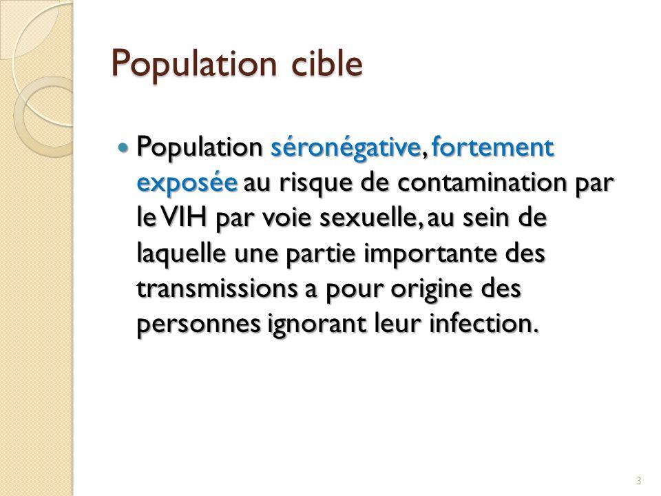 Population cible