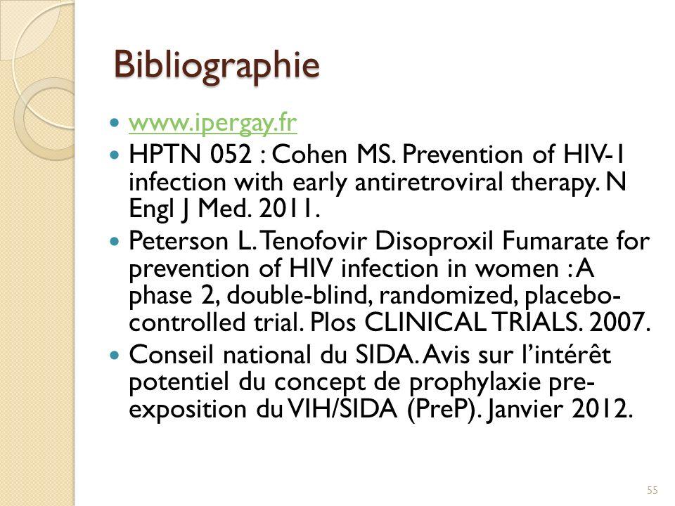 Bibliographie www.ipergay.fr