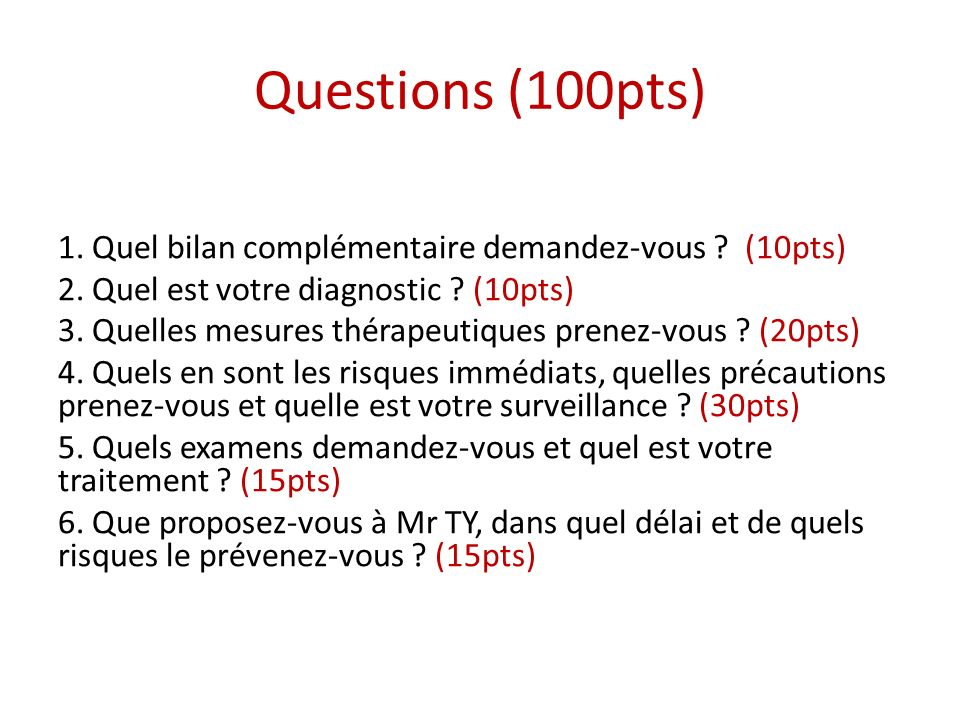 Questions (100pts)