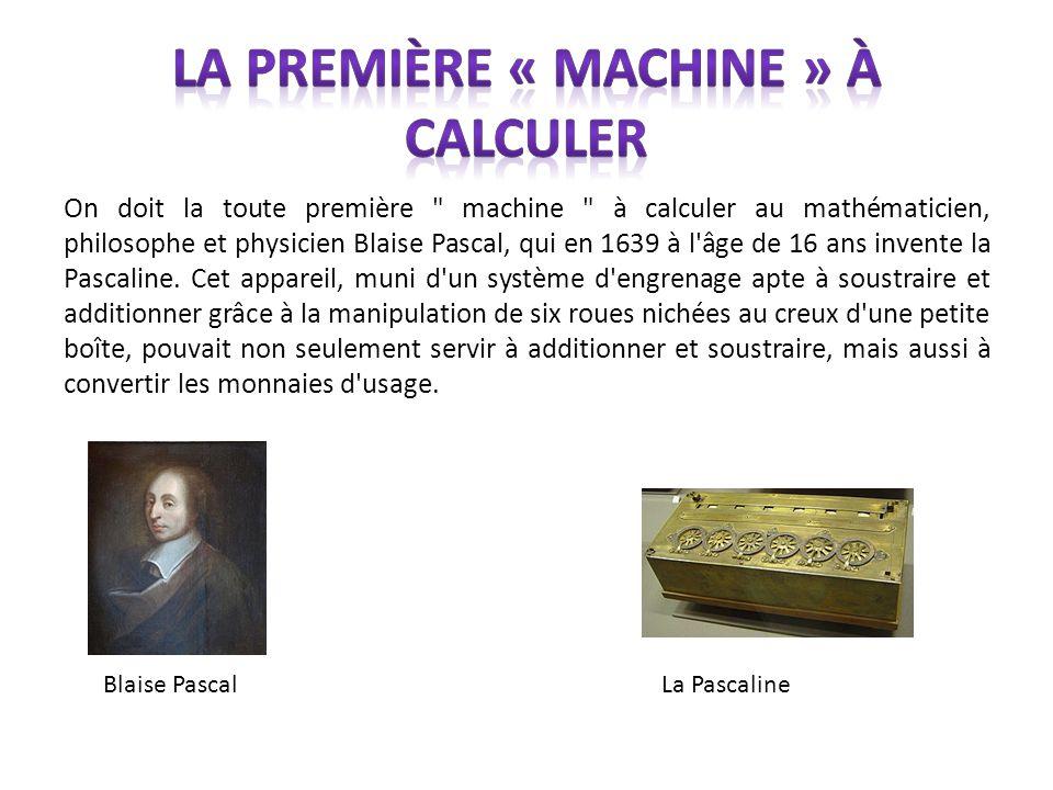La première « machine » à calculer