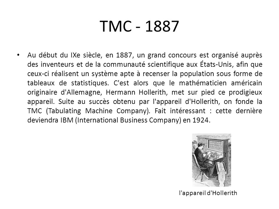 TMC - 1887