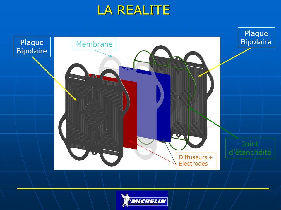 LA REALITE Plaque Bipolaire Plaque Membrane Bipolaire Joint