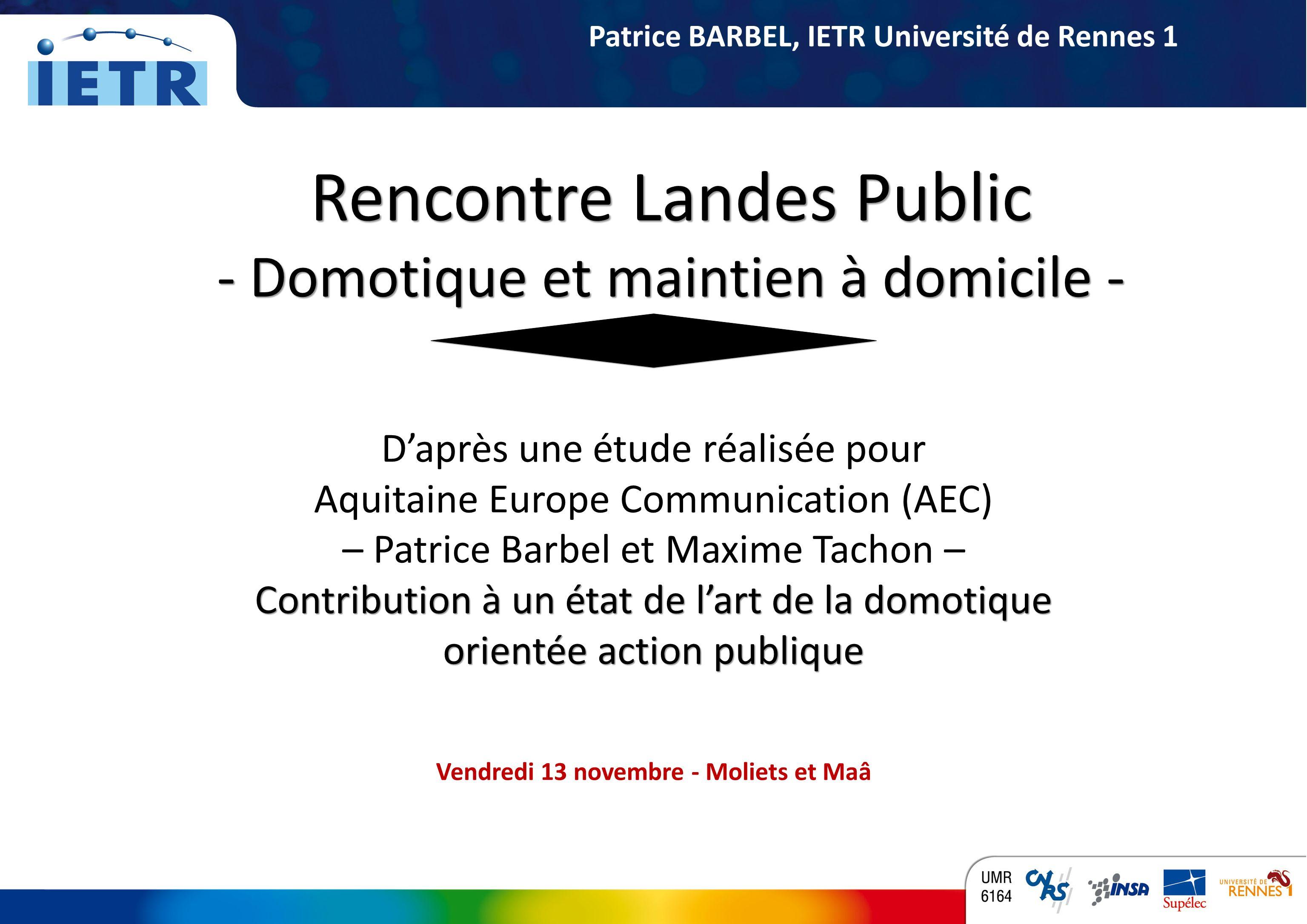 Rencontre Landes Public