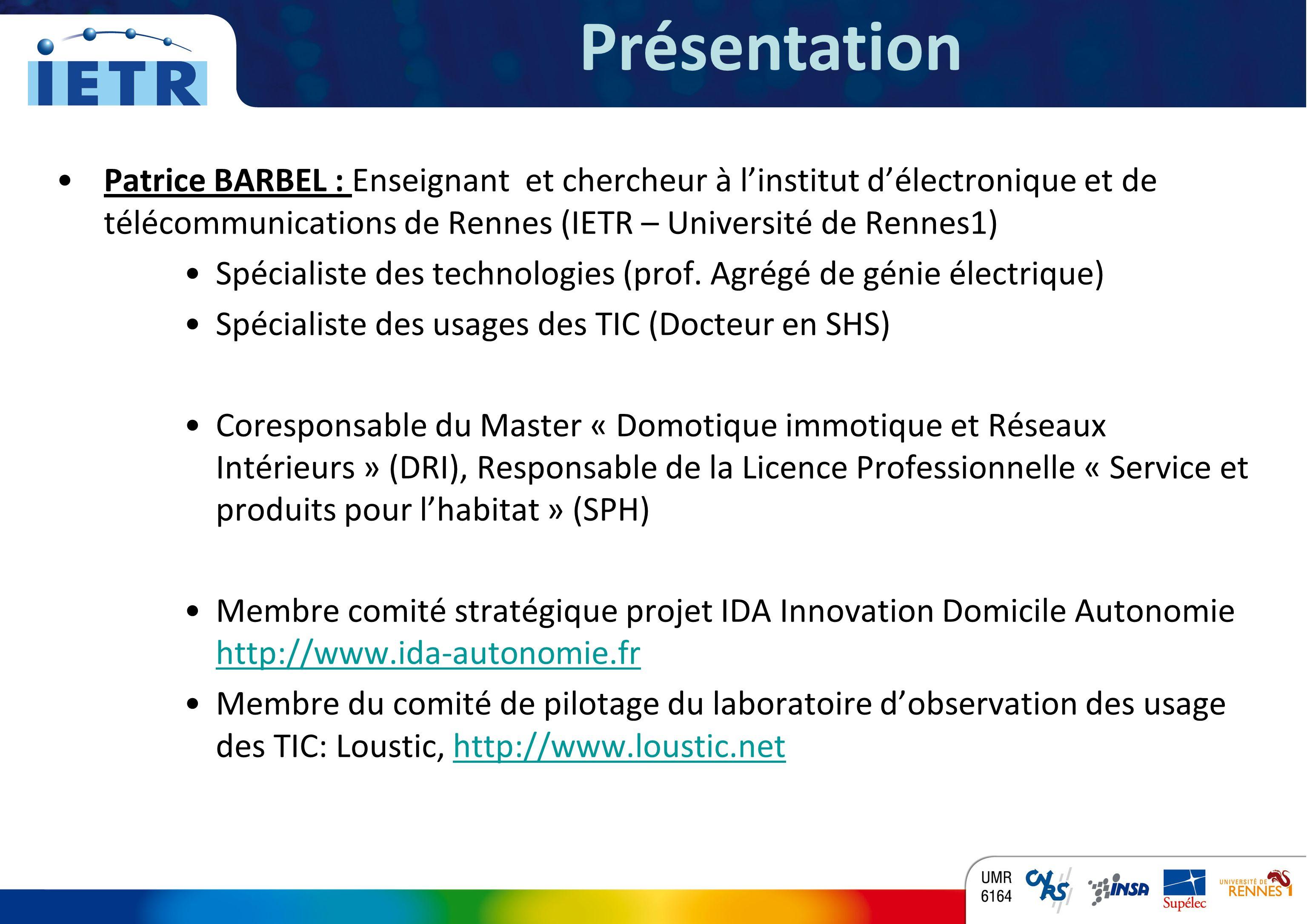 Présentation Annonce du Plan de cette présentation = comment s'articule le document réalisé.